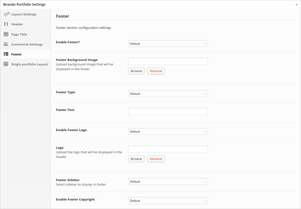 footer-portfolio-settings