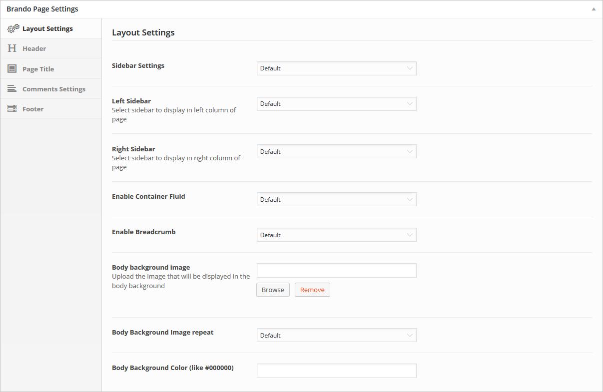 layout-page-settings