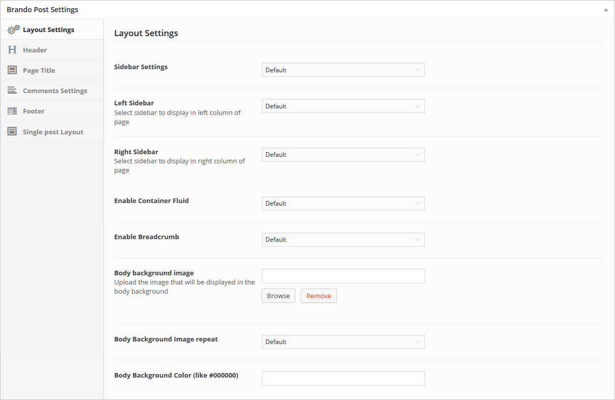 layout-post-settings