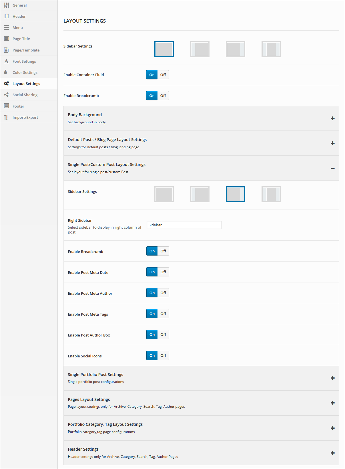 layout-settings
