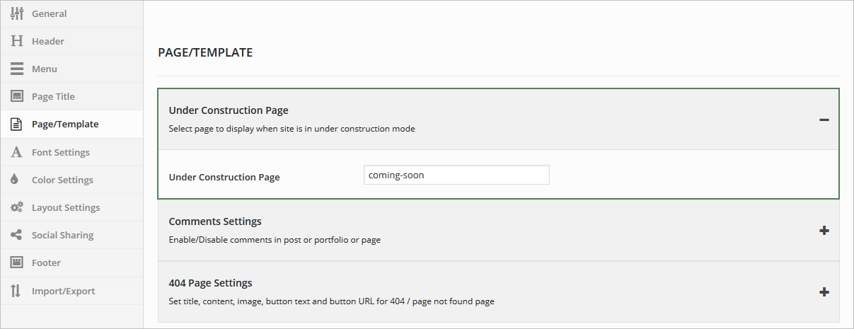 maintenance mode html template - setup under maintenance mode brando documentation