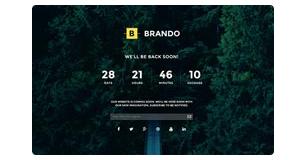 Brando Responsive and Multipurpose OnePage WordPress Theme, Gobase64