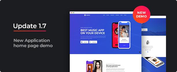 Brando Responsive and Multipurpose OnePage WordPress Theme - 4